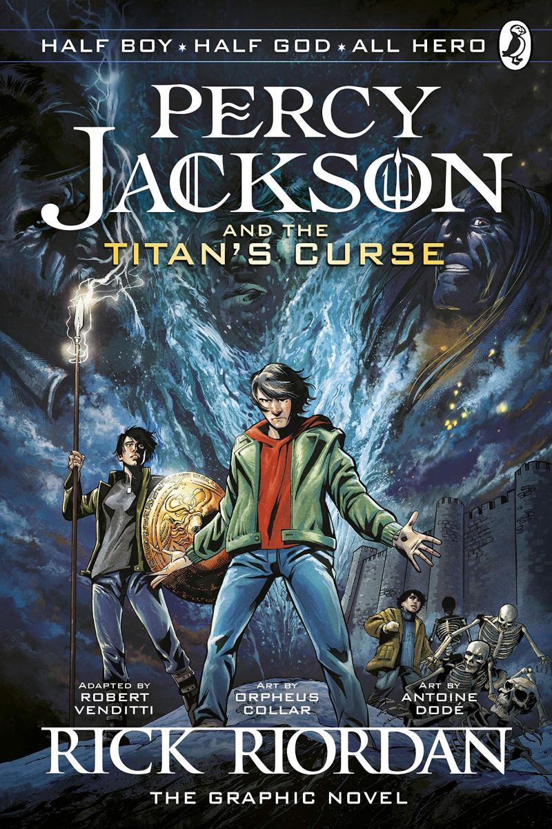 Couvertures, images et illustrations de Percy Jackson ... |Percy Jackson Graphic Novel Annabeth