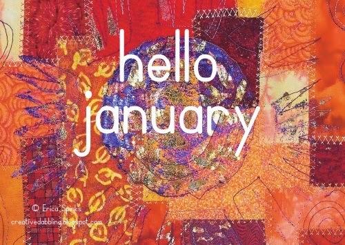 Creative Dabbling: Hello January!